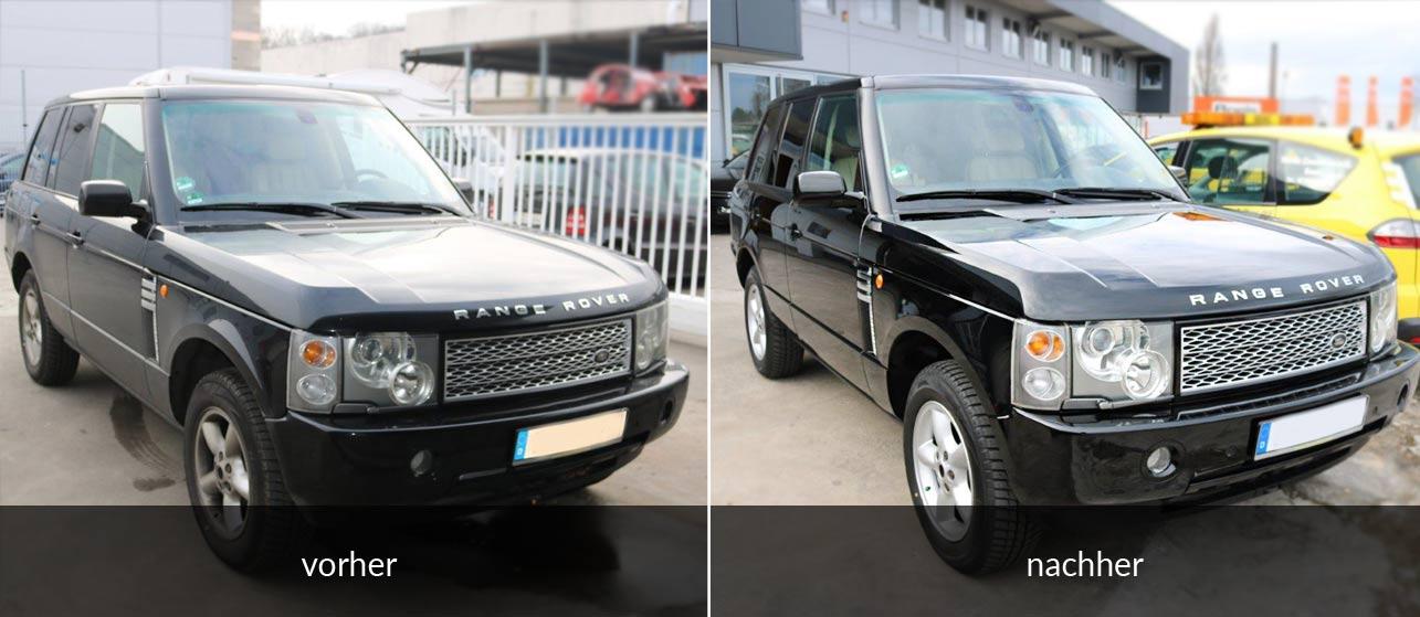 Aufbereitung Range Rover